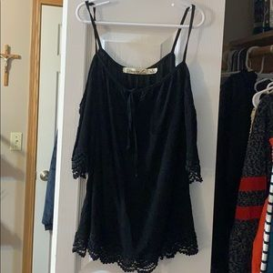 Black dress up shirt